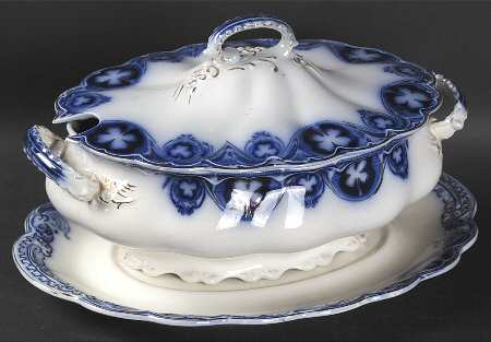 """Savoy"" pattern lidded tureen by Johnson Brothers. $1,499 on replacements.com"