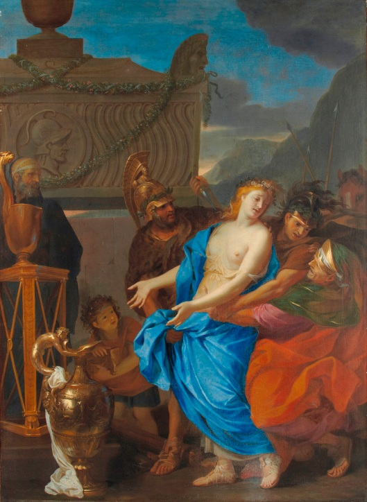 Charles Le Brun, The Sacrifice of Polyxena