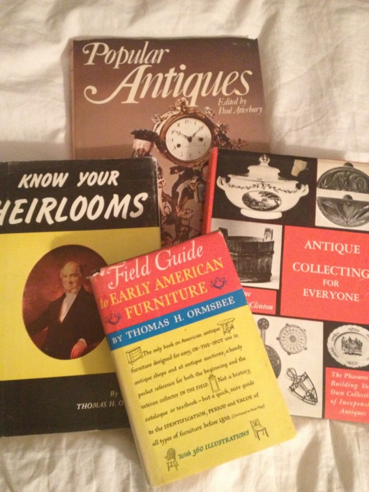 A (small) selection of my (large) collection of vintage books on collecting.