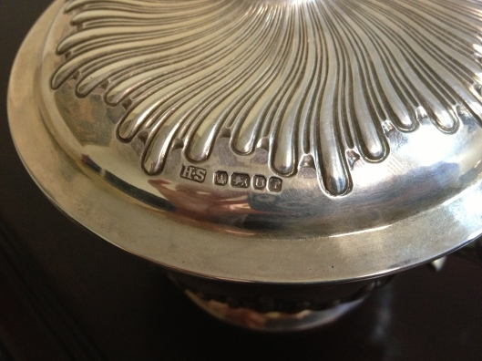 What We're Working on Now: English Silver with a Royal Twist
